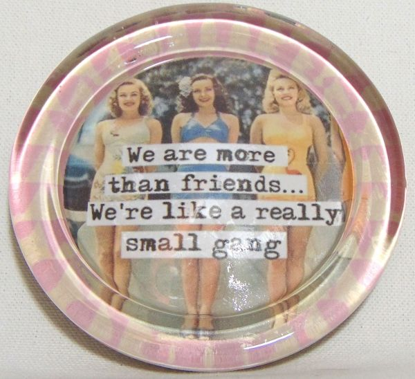 we are more than friends coaster
