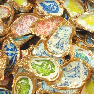 Designer Oyster Shell Bowls