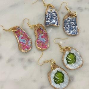 Oyster Shell Earrings