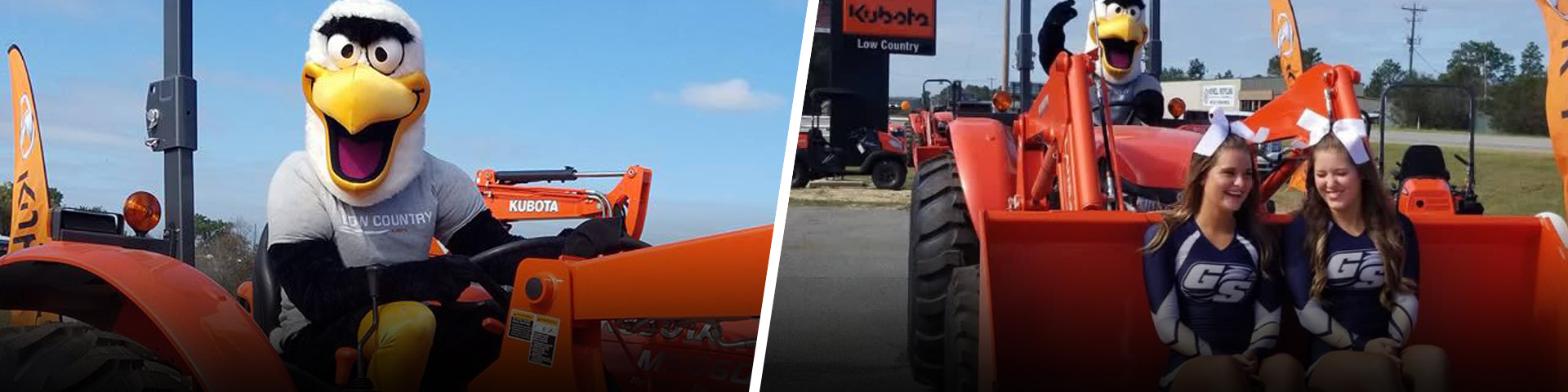 Low Country Kubota - Official Equipment Supplier of Georgia Southern Athletics - Statesboro, GA