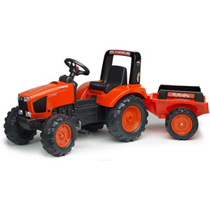 Kubota Pedal Tractor With Trailer