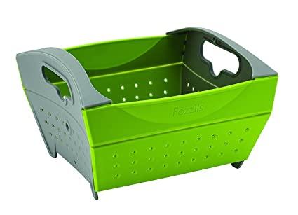 折疊瀝水籃 方型 (有2色選) – LOWDEN