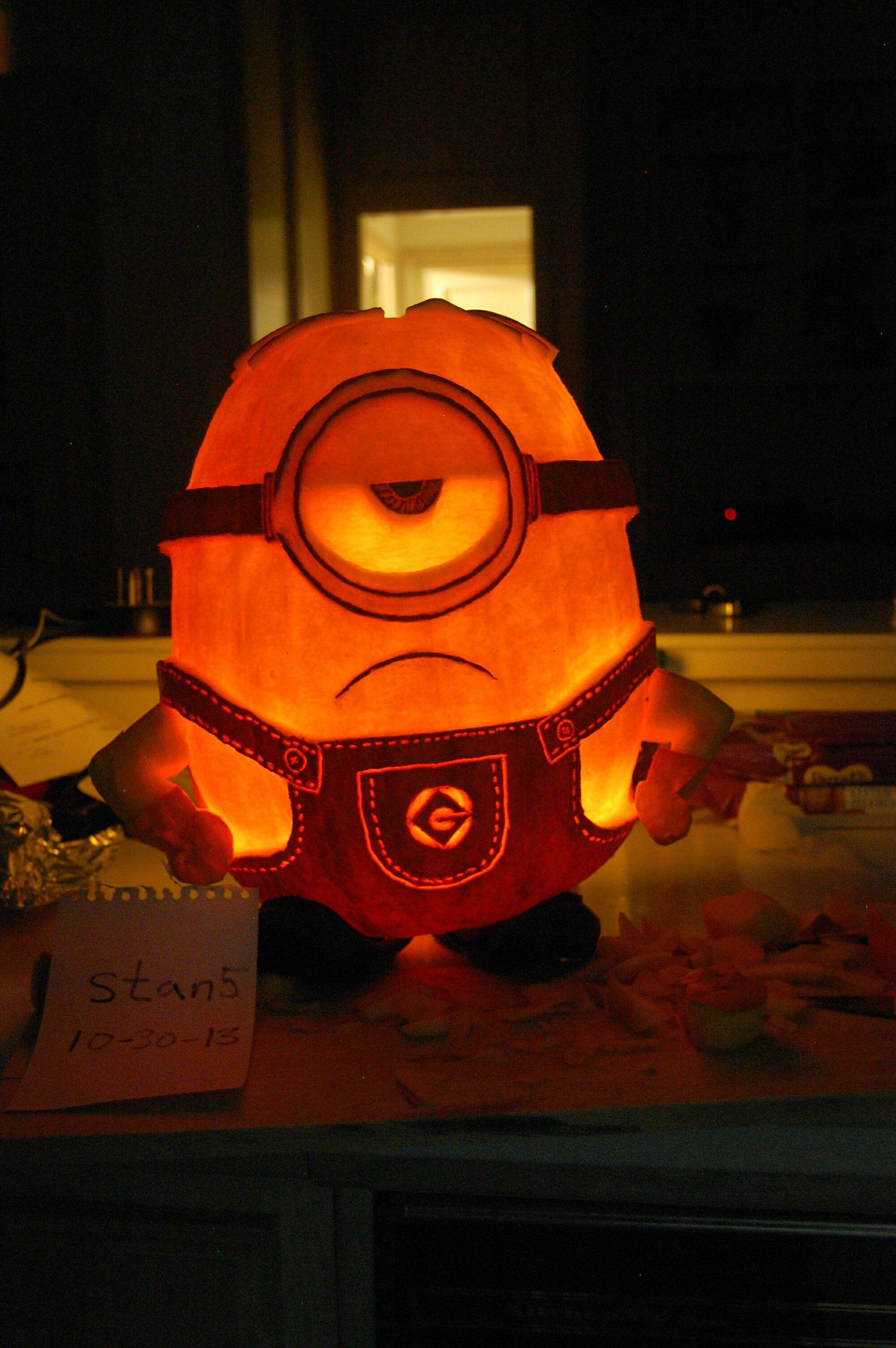 Minion Jack O Lantern