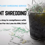 Witnessed Document Shredding Service