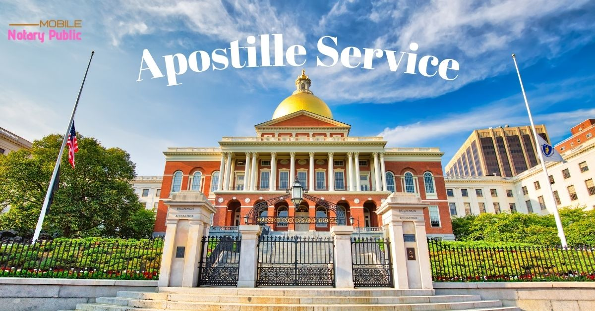 Lowell MA Apostille Service