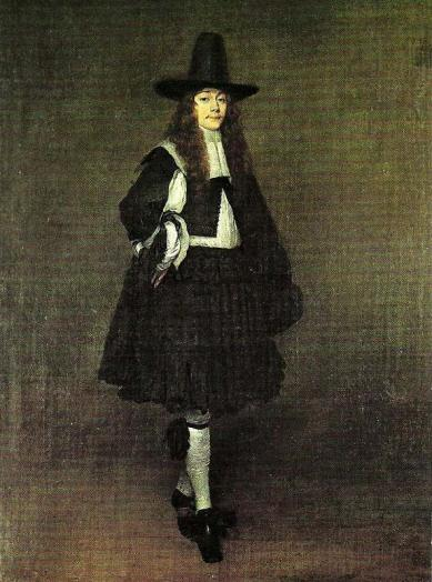 Man in Black, by Gerard ter Borch, c. 1673