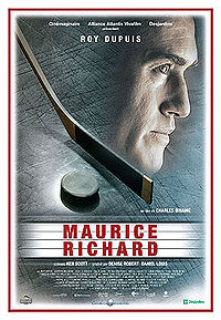 """See """"The Rocket: The Maurice Richard Story"""" at 7PM as part of Lowell's Franco-American week"""