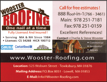 Support the Businesses that Support the LSC!  sc 1 st  Lowell Sportsmenu0027s Club : wooster roofing - memphite.com