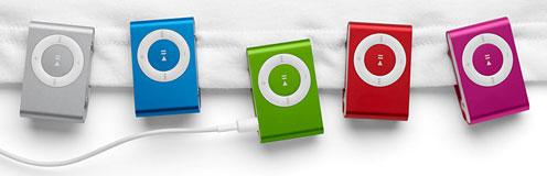 4G iPod shuffle