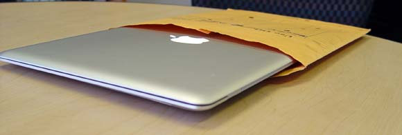 The original Macbook Air famously fit in an envelope