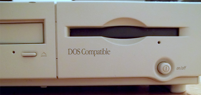 Floppy drive on Power Mac 6100