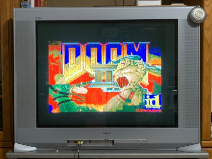 Example: Doom 2 looks great