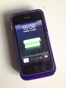 meet 32952 6fb15 Mophie Juice Pack Air for iPhone 3G/3GS Mini Review | Low End Mac