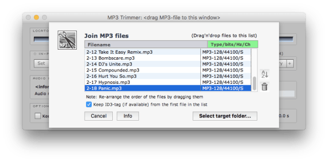 Join MP3s Together for Free Using MP3 Trimmer | Low End Mac