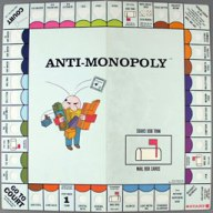 Anti-Monopoly board