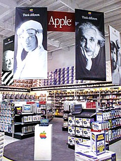 Apple's store within a store concept