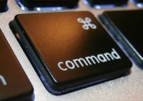 black command key