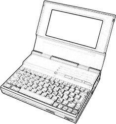 Compaq LTE/286 laptop