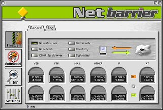 NetBarrier firewall software