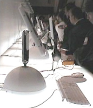 iMac G4 with screen at maximum height