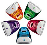 Fruit colored iMacs