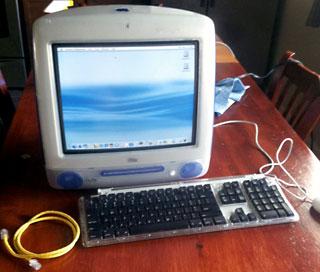 indigo iMac DV