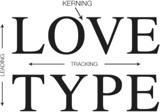 Text and Typography: Leading, Kerning, Tracking, and