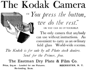 Kodak: You press the button. We do the rest.