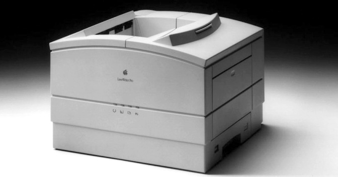 From the Vaults: LaserWriter 8.5.1