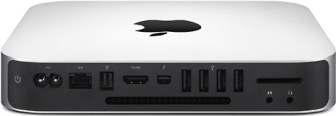 Back of 2011 Mac mini