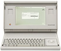 backlit Mac Portable