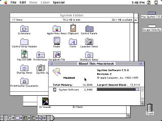 Mac System 7.5.3
