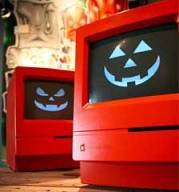 orange Mac Classic Mac-o-Lanterns