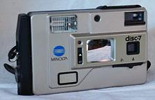 Minolta Disc-7 camera