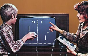 Pong home console