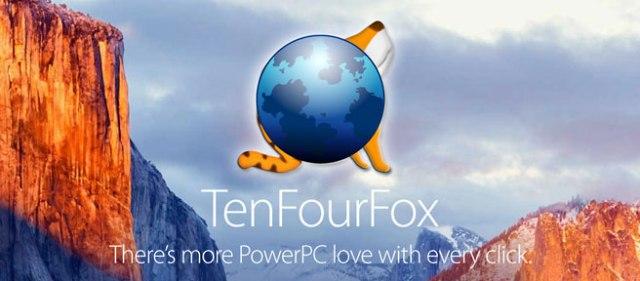 TenFourFox home page