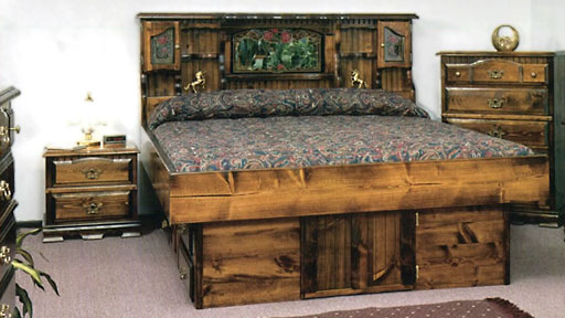 traditional waterbed