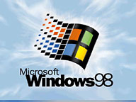 Windows 98 splash screen