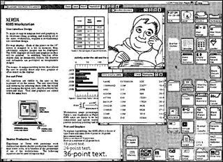 Xerox Star desktop