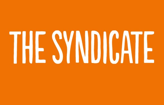 The Syndicate logo (& business card)  ©lowereast.dk