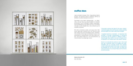 Double spread from Ocean catalogue. Design Lower East