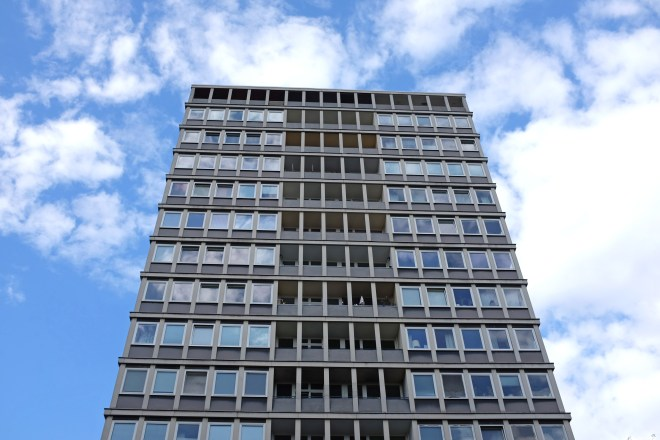 Hansaviertel Berlin. Architect xxx. Photo Lower East