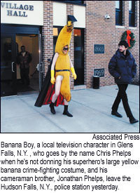Banana Boy's Perp Walk