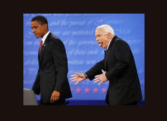 McCain Post-Debate
