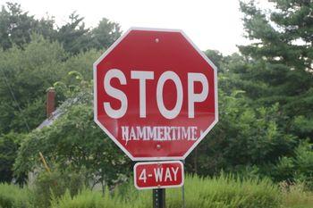 Stop. Hammertime!