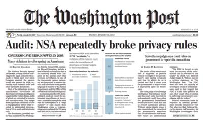 NSA broke rules