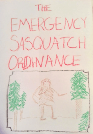 Emergency Sasquatch Ordinance