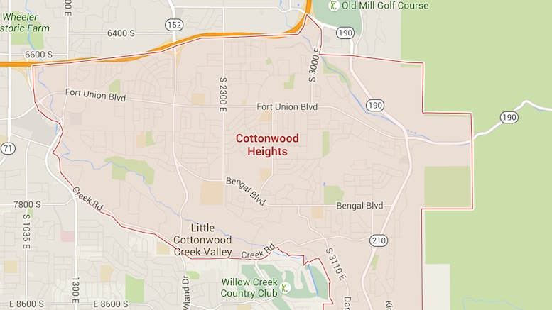 Cottonwood Heights map