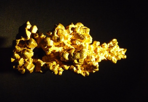 Gold nugget (not in smuggleable form)
