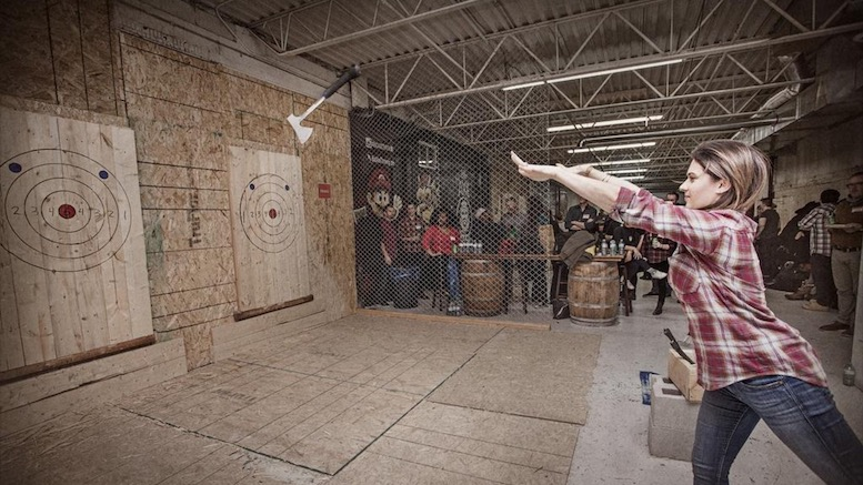 Here S To You Future Plaintiff In Lawsuit Against Axe Throwing Business Lowering The Bar